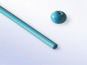 Lauscha-Glasstab SNO501 - türkis