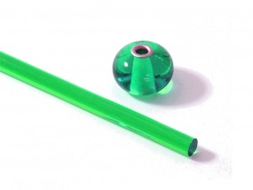 Moretti-Glasstab 030 - smaragdgrün dunkel