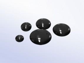 Bullseye-Muggelstein 0100 - schwarz