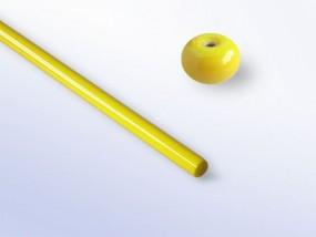 Lauscha-Glasstab SNO340 - gelb