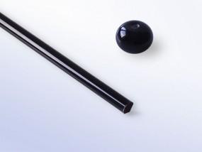 Moretti-Glasstab 066 - tiefschwarz (dense black)