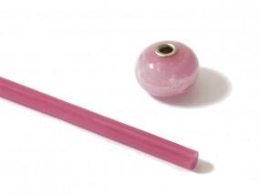 Moretti-Glasstab 380 - rosa dunkel