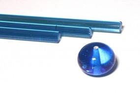 Reichenbach-Glasstab L3018-T mittelblau
