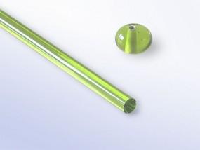 Lauscha-Glasstab SNT082 - moosgrün
