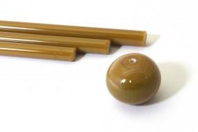 Reichenbach-Glasstab L7205--O caramel