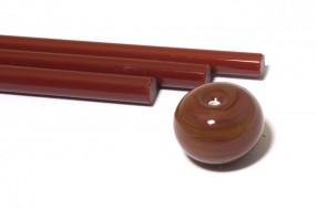 Reichenbach-Glasstab L7206-O kaminbraun