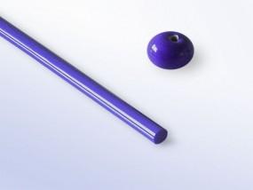 Lauscha-Glasstab SNO320 - blau