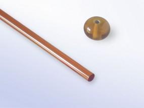 Lauscha-Glasstab SNT040 - braun dunkel