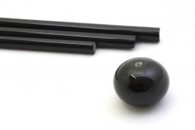 Reichenbach-Glasstab L9202-O schwarz