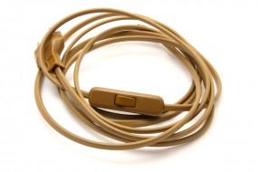 Anschlusskabel (gold)
