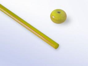 Lauscha-Glasstab SNT145 - gelb