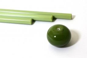 Reichenbach-Glasstab L4203-0 olive grün
