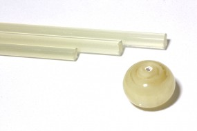 Reichenbach-Glasstab L701-S pearl beige