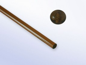 Ornela-Glasstab 1012 - topas sehr dunkel