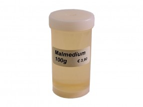 Malmedium für Puder