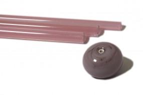 Reichenbach-Glasstab L601-S pearl pink