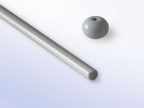 Moretti-Glasstab 268 - perlgrau
