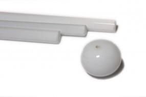 Reichenbach-Glasstab L1200-0 weiß