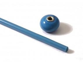 Moretti-Glasstab 228 - himmelblau dunkel